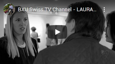 BXU Swiss TV - LAURA CHAPLIN VERNISSAGE in Nyon